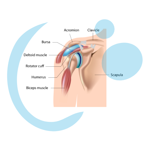 Osteopathy for bursitis